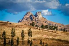 madagascar berg Fotografering för Bildbyråer