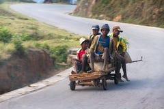 Madagascar cart Stock Images