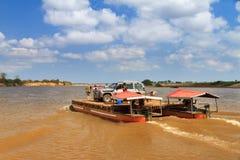 Madagascar ferry trip Stock Image