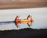 Madagascar Fishermen Stock Photo