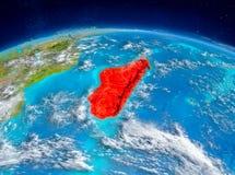 Madagascar på jord Royaltyfri Fotografi