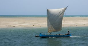 Madagascar pirogue Stock Photos