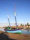 Madagascar statek Obraz Stock