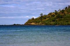 Madagaskar-Küstenlinie Stockbild