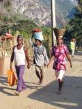 Madagassische Leute Stockbild