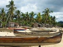 Madagassisches Dorf Stockbild