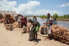 Madagassisches Völkeralltagsleben in Madagaskar Stockfoto