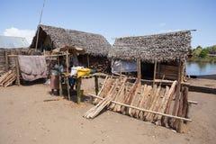 Madagassisches Völkeralltagsleben in Madagaskar Lizenzfreies Stockbild