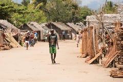 Madagassisches Völkeralltagsleben in Madagaskar Lizenzfreie Stockfotografie