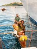 Madagassiska försäljare - Madagascar Arkivfoto
