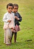 Madagassiska flickor Fotografering för Bildbyråer