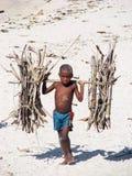 Madagassiskt barn Arkivbilder