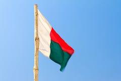 Madagscar flag Stock Photography