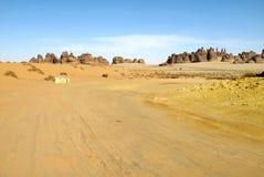 Madain Saleh, arch?ologische Fundst?tte mit Nabatean-Gr?bern in Saudi-Arabien KSA stockfoto