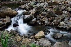 Madakaripura瀑布,苏拉巴亚,印度尼西亚 免版税库存图片