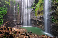 Madakaripura Waterfall in Bromo Tengger Semeru National Park Indonesia Stock Photo