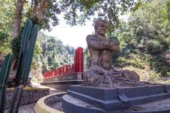 Madakaripura waterfall royalty free stock photos