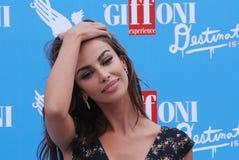 Madalina Ghenea al Giffoni Ekranowy festiwal 2016 Obrazy Royalty Free