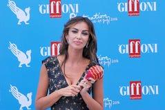 Madalina Ghenea al Giffoni Ekranowy festiwal 2016 Zdjęcia Royalty Free