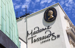 Madam Tussauds i London royaltyfri foto