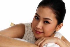 Madame asiatique Image libre de droits