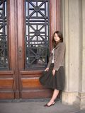 Madame de mode Images libres de droits