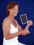 Madame disant votre fortune photographie stock libre de droits
