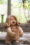 Madame Doll de poterie Image libre de droits