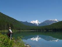 Madame du lac Images libres de droits