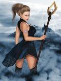 Madame Elf Image libre de droits