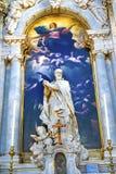 Madame Giordano Santa Maria della Salute Church Venice d'hypothèse Photos libres de droits