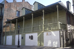 Madame John`s Legacy museum in New Orleans. Louisiana USA stock images