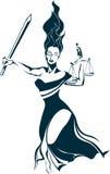 Madame Justice Image libre de droits