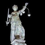 Madame Justice, Francfort Photos libres de droits