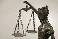 Madame Justice - Temida - Themis Photographie stock libre de droits
