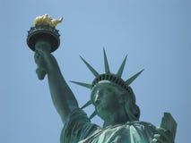 Madame Liberty de New York Photo stock