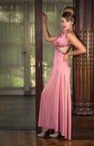 Madame In Pink Photos libres de droits