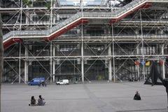 Madame Pompidou Square, Paris Royalty Free Stock Photography