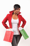 Madame Shopping Images stock