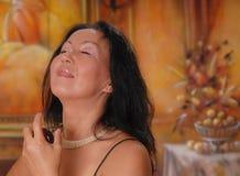 Madame sophistiquée 14 Images libres de droits