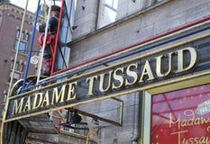 Madame Tussaud Photo libre de droits