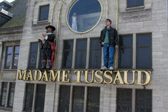Madame Tussaud in Amsterdam facade Stock Image