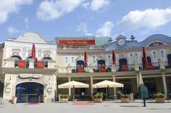 Madame Tussaud's museum, Vienna royalty free stock image