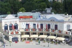 Madame Tussaud's museum, Vienna Stock Photos