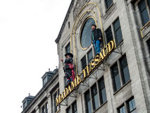 Madame Tussaud wax museum at Amsterdam Stock Images