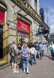 Madame Tussauds in Amsterdam Royalty Free Stock Photo