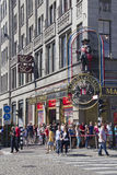 Madame Tussauds in Amsterdam Royalty Free Stock Images