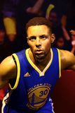 Nba player stephen curry wax figure at madam tussads hong kong royalty free stock photography