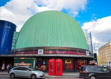Madame Tussauds museum in London, UK royalty free stock photography