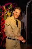 Madame tussauds, wosku muzeum Atrakcja turystyczna Wosk postać Elvis presley zdjęcie royalty free